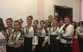 """ВІТАЄМО фольк-гурт """"ГРОНО"""""""