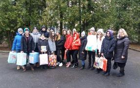 """Учні нашої школи відвідали Тернопільський Обласний Спеціалізований Будинок Дитини """"Малятко"""""""