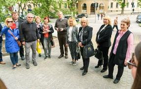 10 травня наша школа приймала гостей із Естонії та Фінляндії