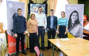 Конкурс ораторського мистецтва серед учнів 10-11 класів за підтримки Міжнародного університету LCC