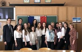 Зустріч з аташе Посольства Франції в Україні з питань співробітництва у галузі французької мови Фабрісом Пето.